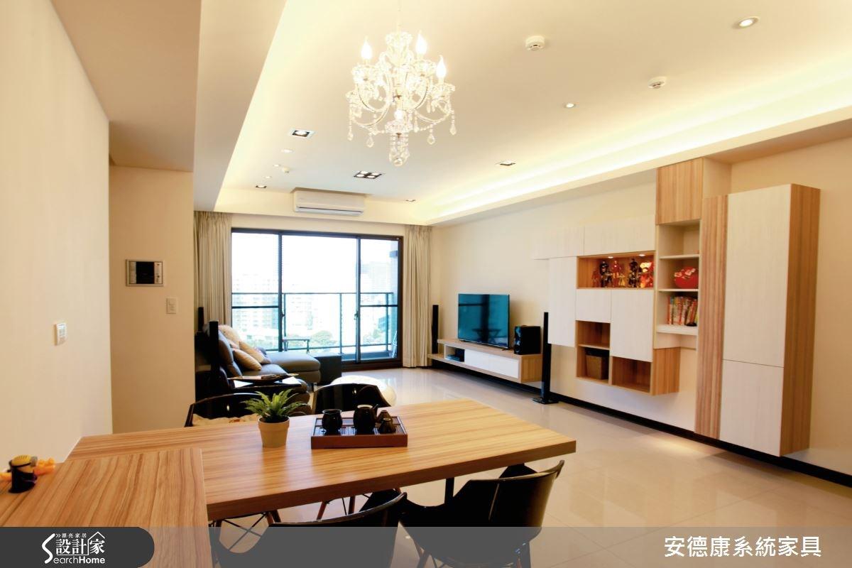 25坪新成屋(5年以下)_簡約風餐廳案例圖片_安德康系統室內設計_安德康_26之3