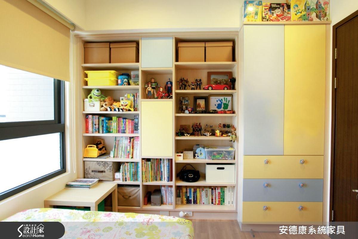 25坪新成屋(5年以下)_簡約風臥室案例圖片_安德康系統室內設計_安德康_26之5
