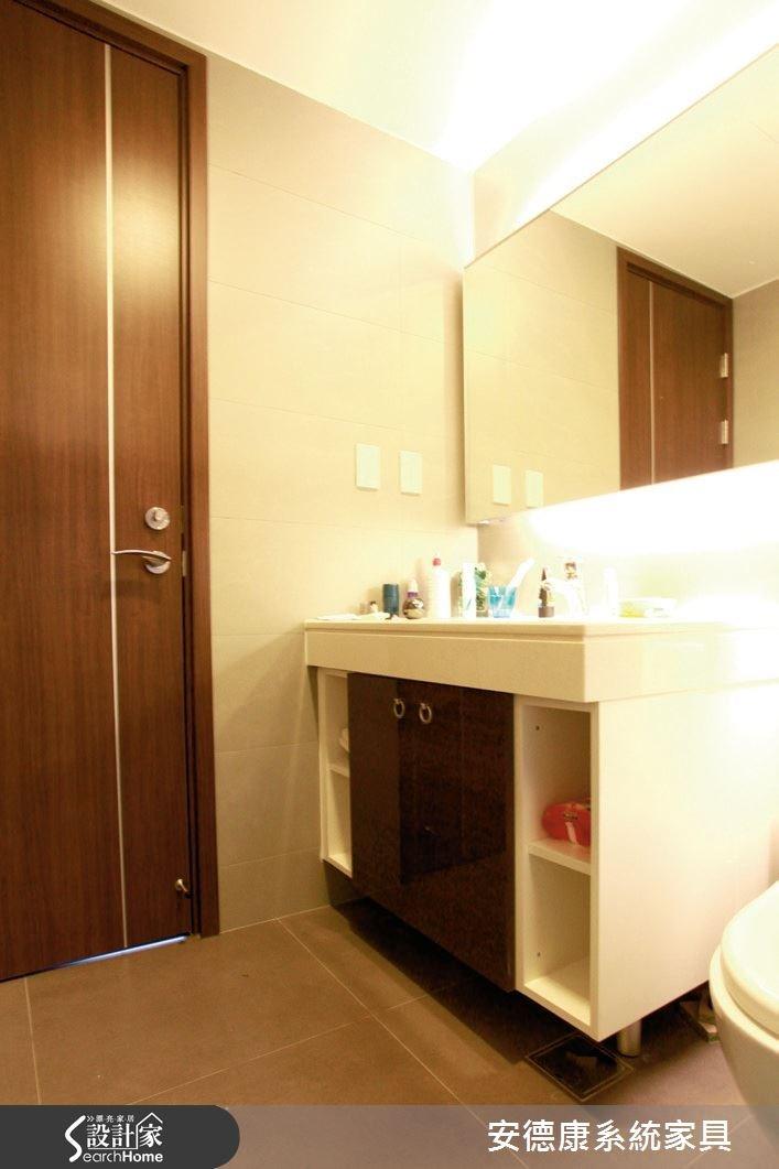 25坪新成屋(5年以下)_簡約風浴室案例圖片_安德康系統室內設計_安德康_26之7