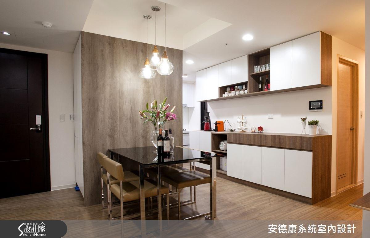28坪新成屋(5年以下)_現代風餐廳案例圖片_安德康系統室內設計_安德康_27之4