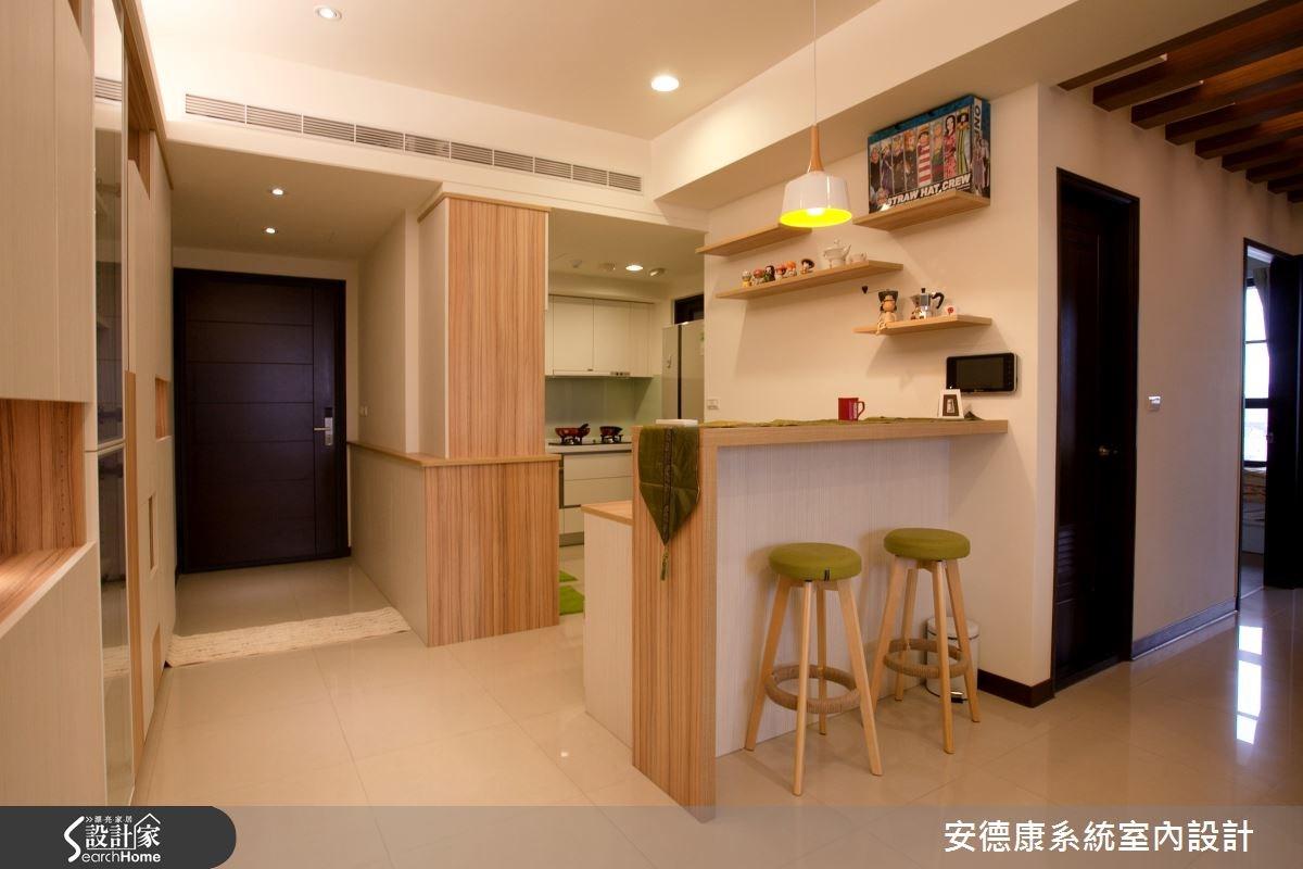 27坪新成屋(5年以下)_休閒風吧檯案例圖片_安德康系統室內設計_安德康_28之2