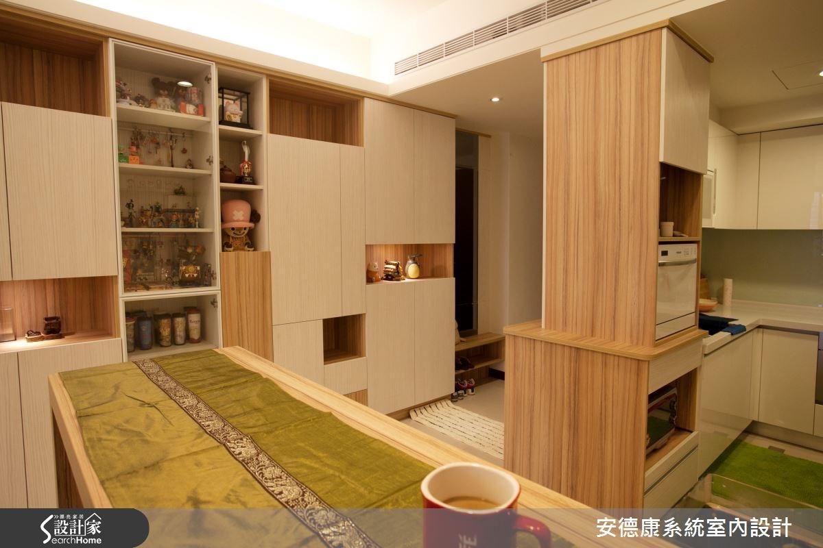 27坪新成屋(5年以下)_休閒風吧檯案例圖片_安德康系統室內設計_安德康_28之3