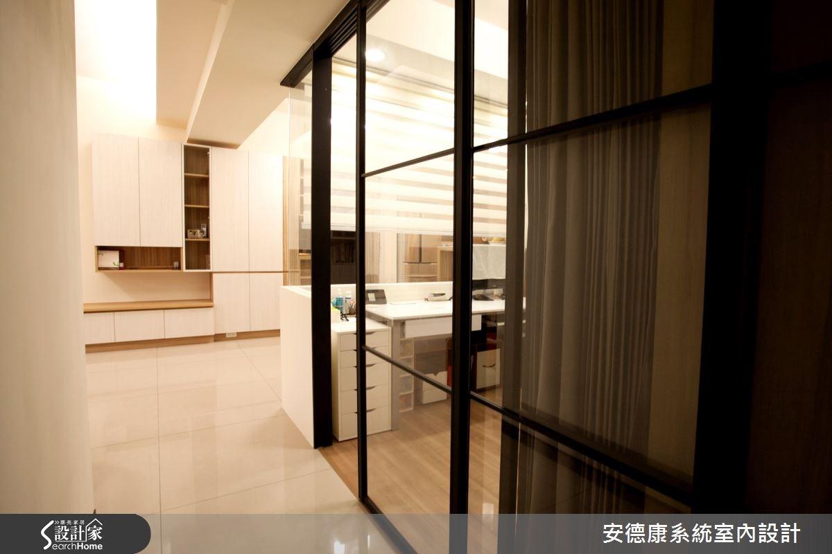 24坪新成屋(5年以下)_簡約風玄關案例圖片_安德康系統室內設計_安德康_29之1