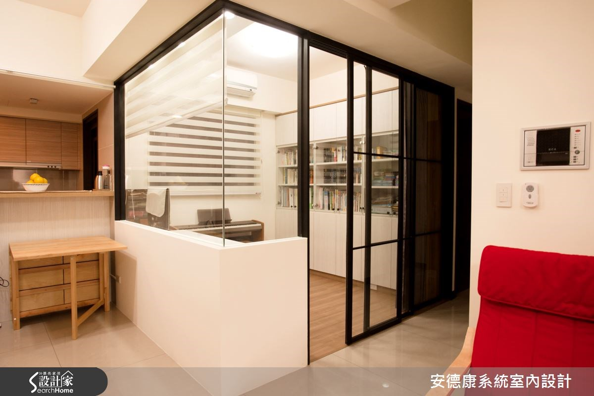24坪新成屋(5年以下)_簡約風玄關案例圖片_安德康系統室內設計_安德康_29之2