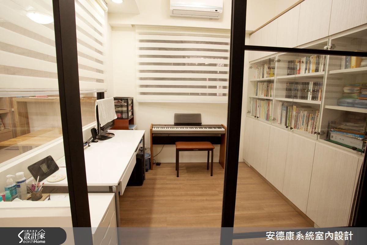 24坪新成屋(5年以下)_簡約風書房案例圖片_安德康系統室內設計_安德康_29之3