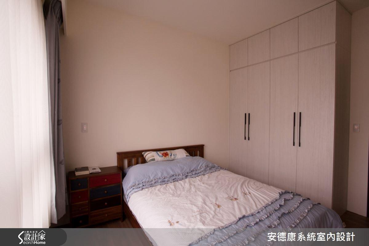 24坪新成屋(5年以下)_簡約風臥室案例圖片_安德康系統室內設計_安德康_29之9