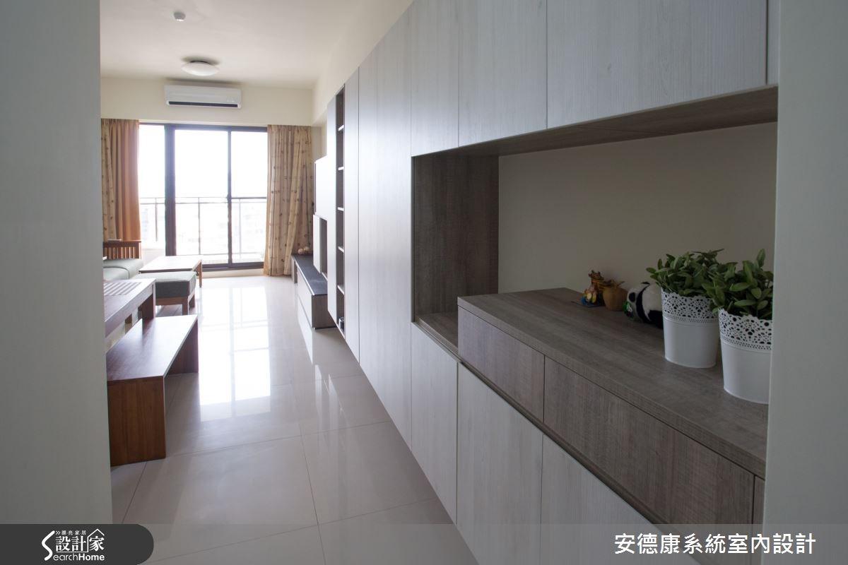 23坪新成屋(5年以下)_簡約風走廊案例圖片_安德康系統室內設計_安德康_31之1