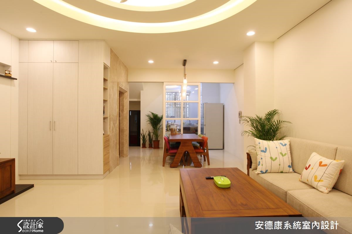 64坪新成屋(5年以下)_混搭風客廳案例圖片_安德康系統室內設計_安德康_32之2