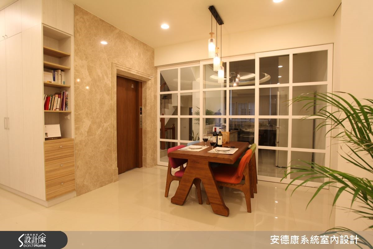 64坪新成屋(5年以下)_混搭風餐廳案例圖片_安德康系統室內設計_安德康_32之4