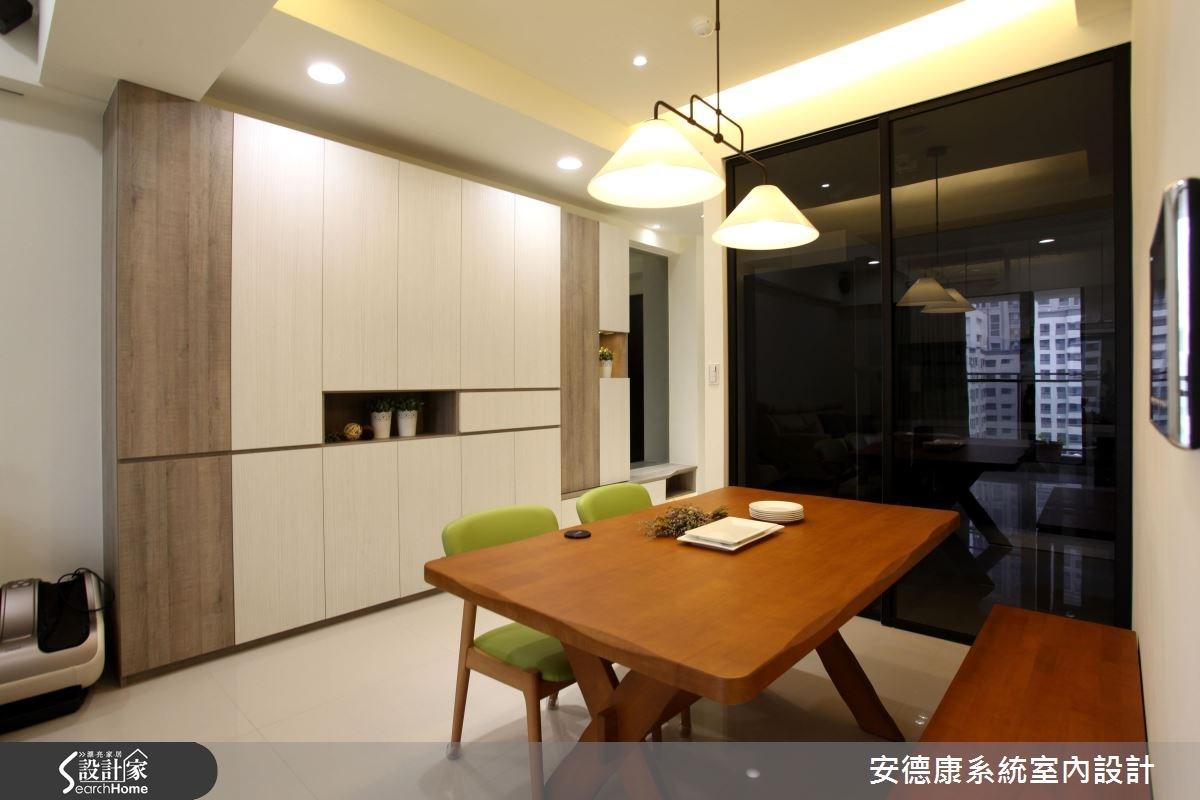 25坪新成屋(5年以下)_休閒風案例圖片_安德康系統室內設計_安德康_34之3