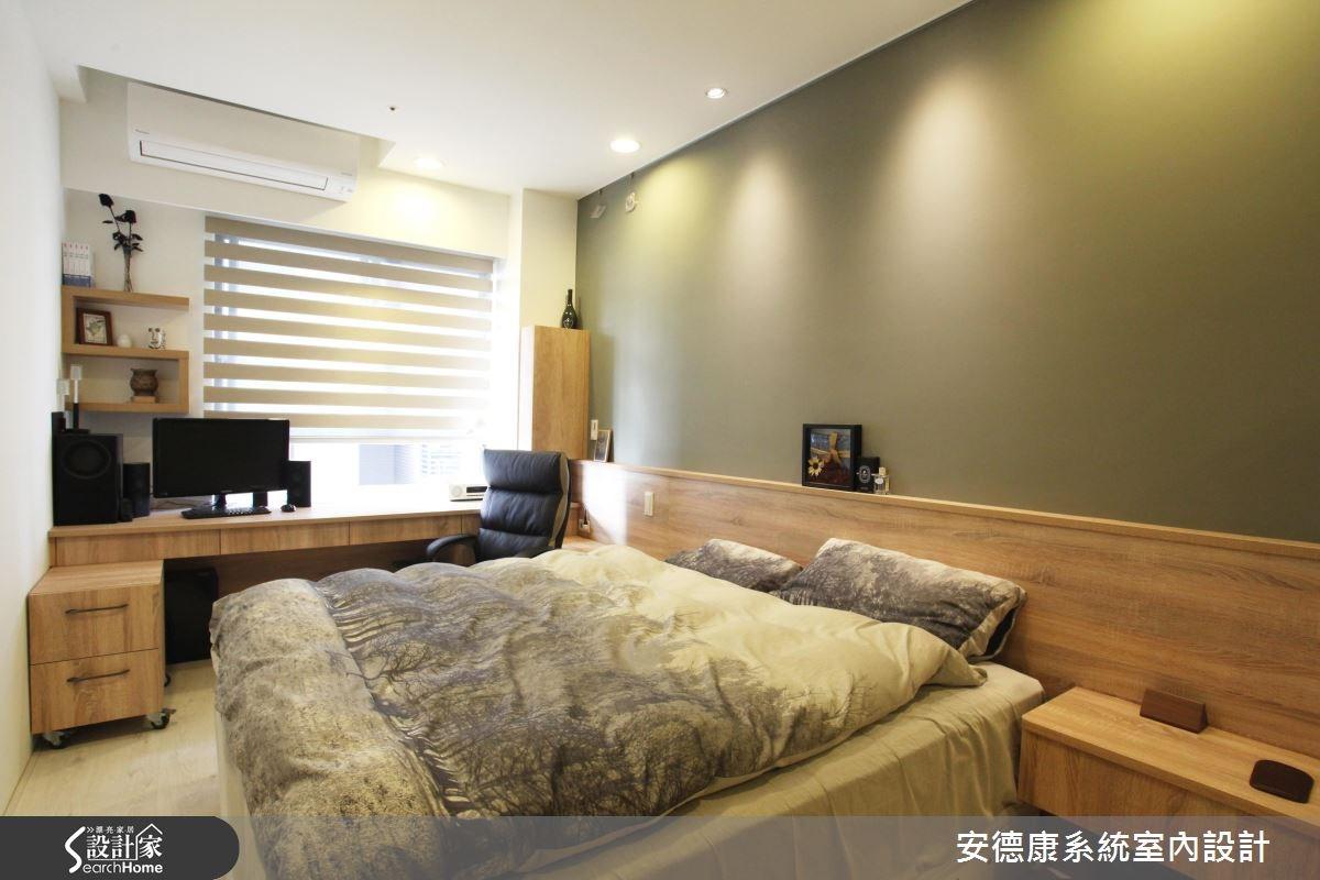 18坪新成屋(5年以下)_工業風臥室案例圖片_安德康系統室內設計_安德康_40之10