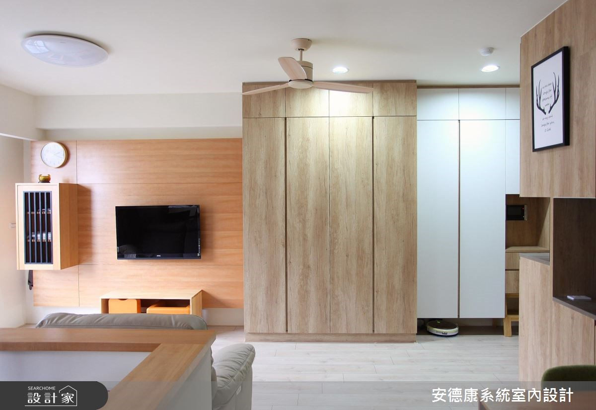 28坪新成屋(5年以下)_北歐風客廳案例圖片_安德康系統室內設計_安德康_44之2