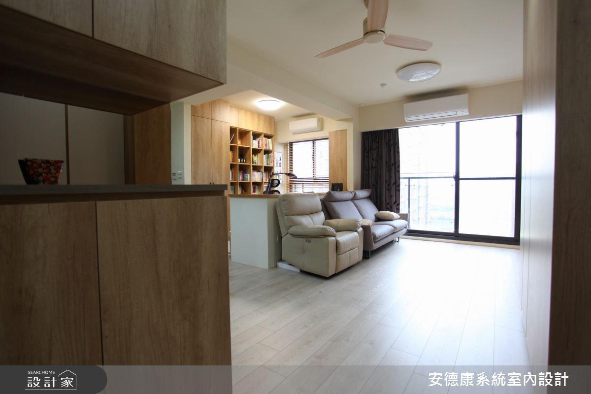 28坪新成屋(5年以下)_北歐風玄關案例圖片_安德康系統室內設計_安德康_44之3