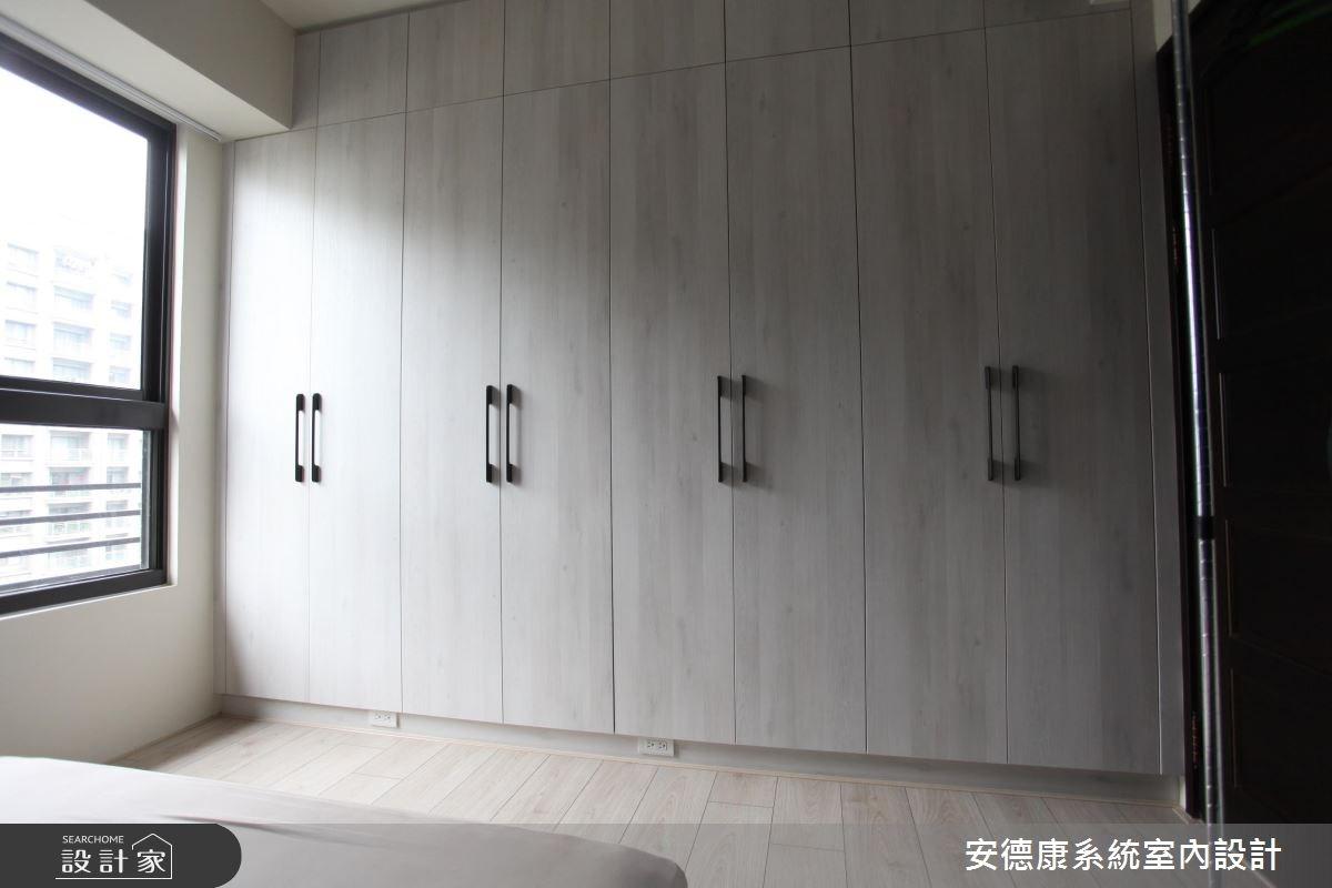 28坪新成屋(5年以下)_北歐風臥室案例圖片_安德康系統室內設計_安德康_44之15