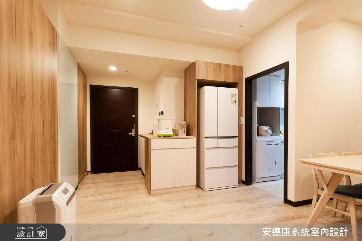 25坪新成屋(5年以下)_簡約風餐廳案例圖片_安德康系統室內設計_安德康_47之9
