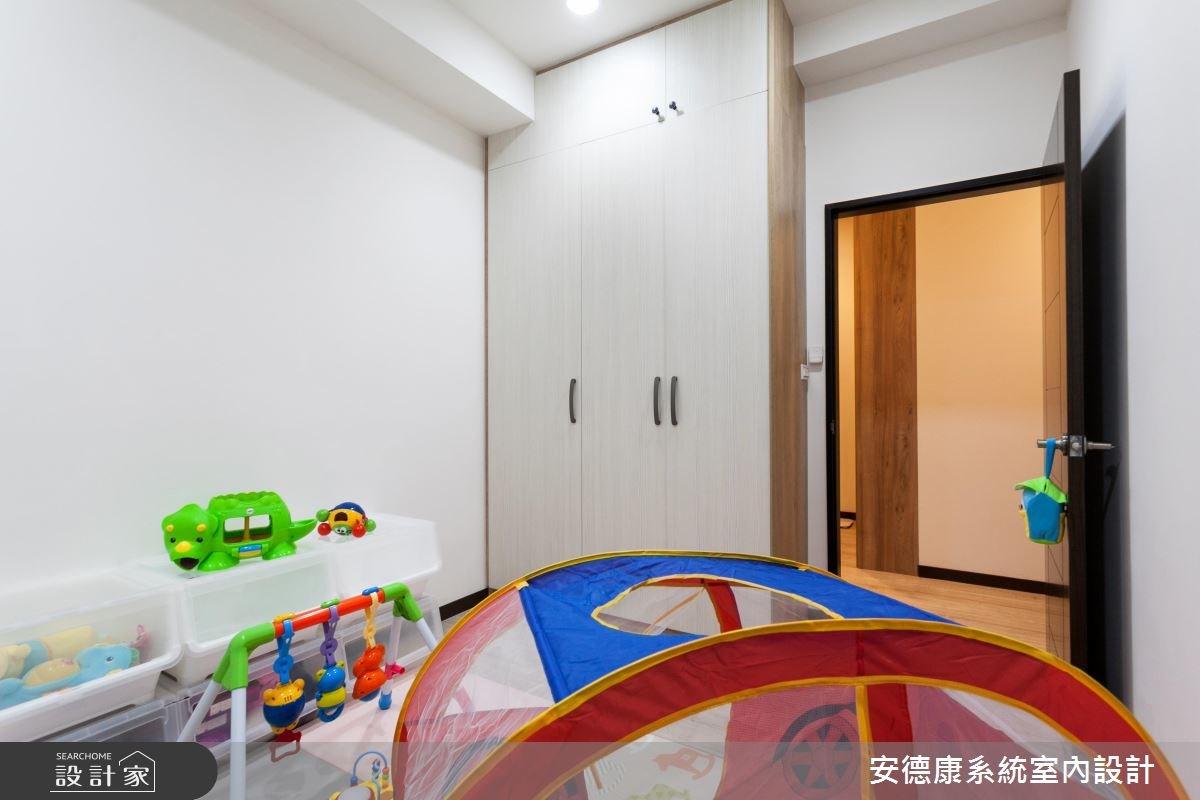 25坪新成屋(5年以下)_簡約風兒童房兒童房案例圖片_安德康系統室內設計_安德康_47之10