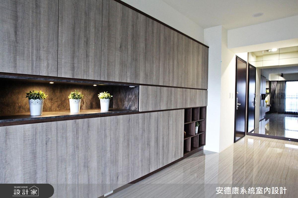 30坪新成屋(5年以下)_現代風玄關案例圖片_安德康系統室內設計_安德康_52之1