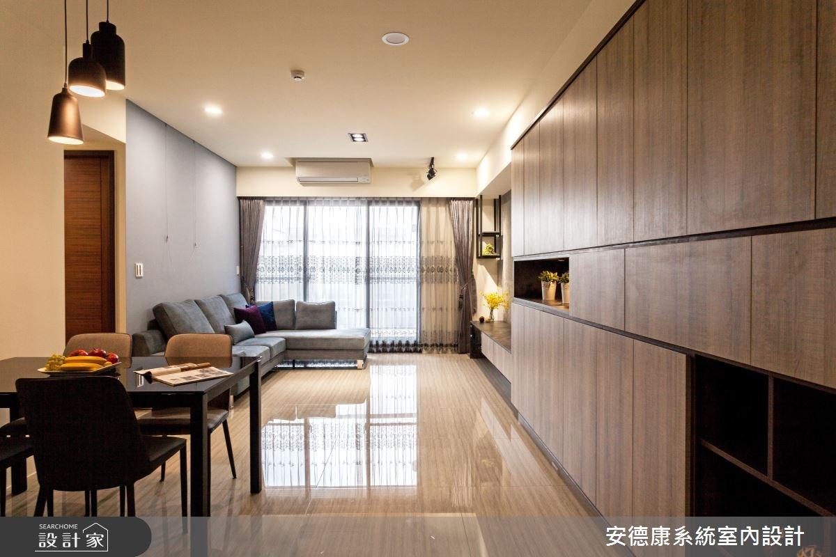 30坪新成屋(5年以下)_現代風客廳案例圖片_安德康系統室內設計_安德康_52之3