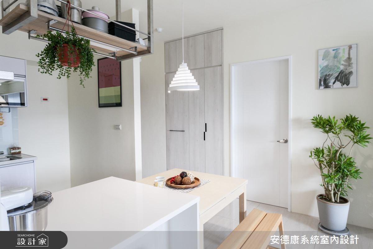 30坪新成屋(5年以下)_北歐風餐廳案例圖片_安德康系統室內設計_安德康_53之3