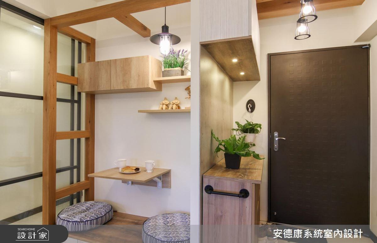 22坪新成屋(5年以下)_混搭風玄關和室案例圖片_安德康系統室內設計_安德康_56之2