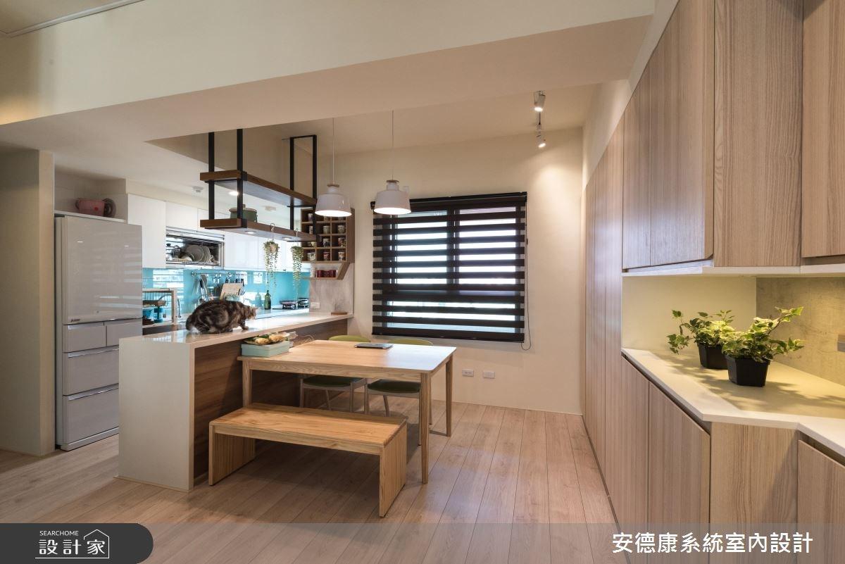 28坪新成屋(5年以下)_北歐風餐廳案例圖片_安德康系統室內設計_安德康_60之12