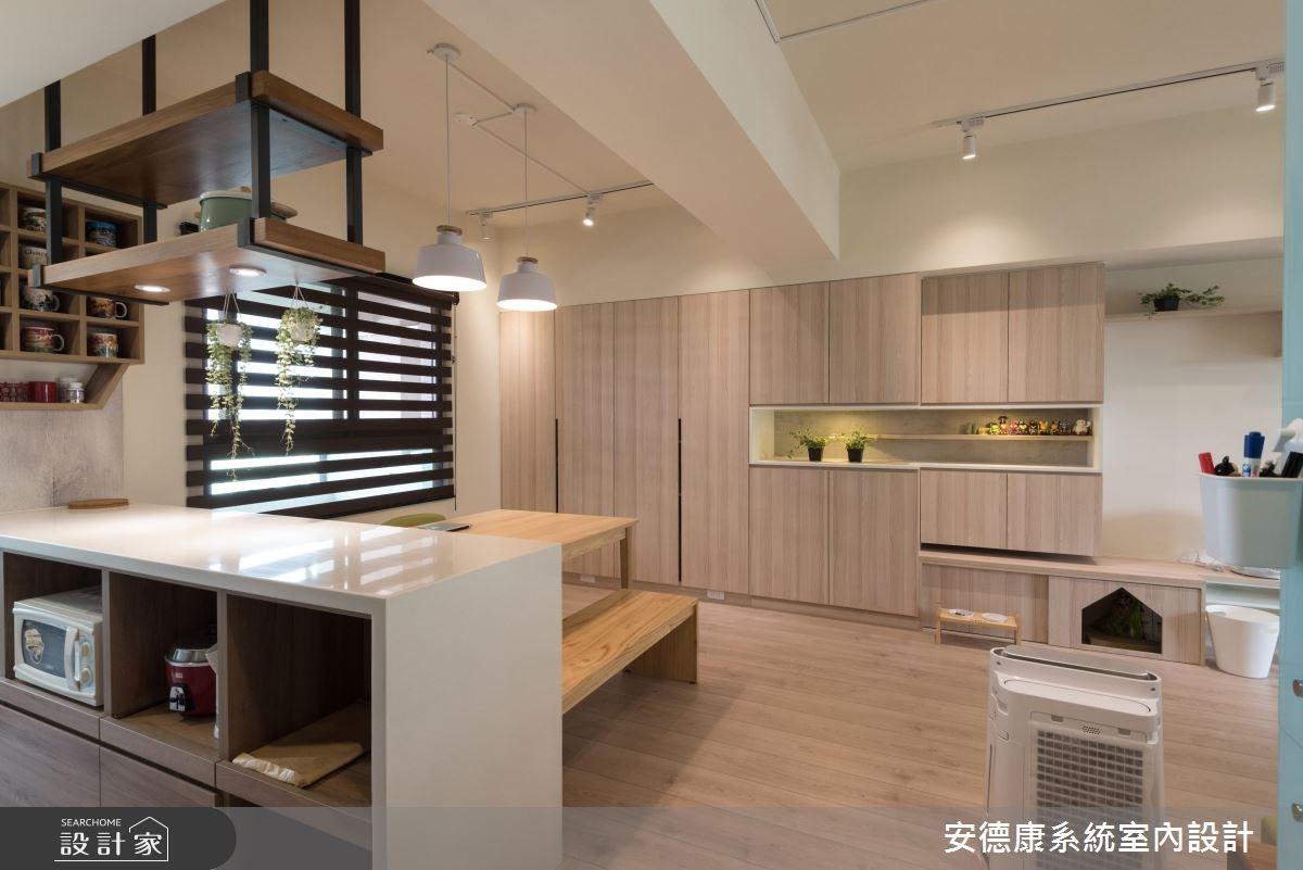28坪新成屋(5年以下)_北歐風餐廳案例圖片_安德康系統室內設計_安德康_60之13