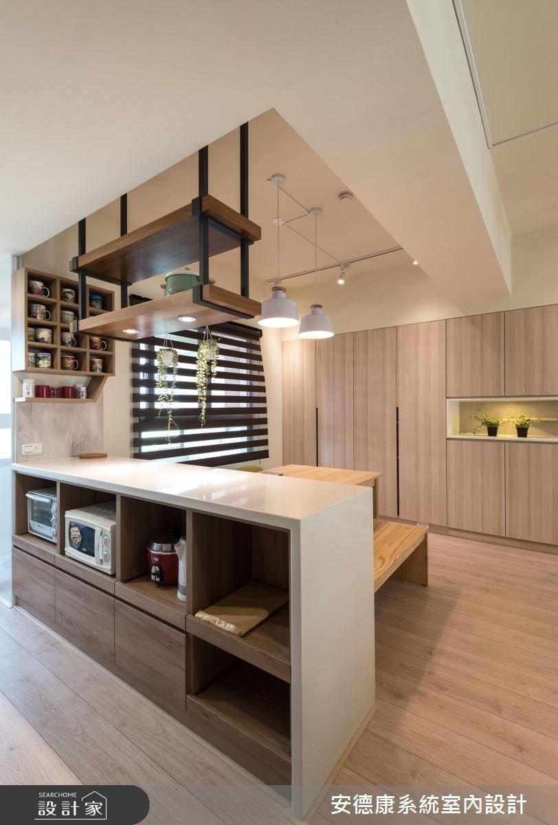 28坪新成屋(5年以下)_北歐風餐廳案例圖片_安德康系統室內設計_安德康_60之14