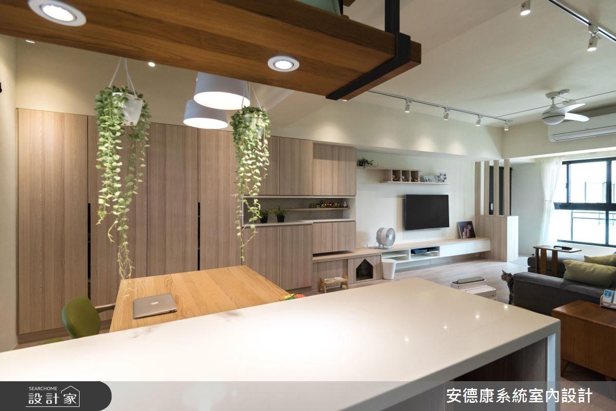 28坪新成屋(5年以下)_北歐風餐廳案例圖片_安德康系統室內設計_安德康_60之15