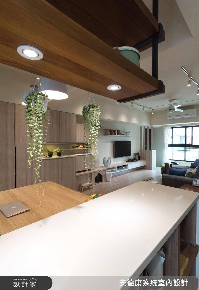28坪新成屋(5年以下)_北歐風餐廳案例圖片_安德康系統室內設計_安德康_60之16