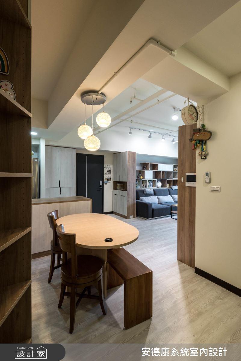 26坪預售屋_現代風餐廳案例圖片_安德康系統室內設計_安德康_61之9