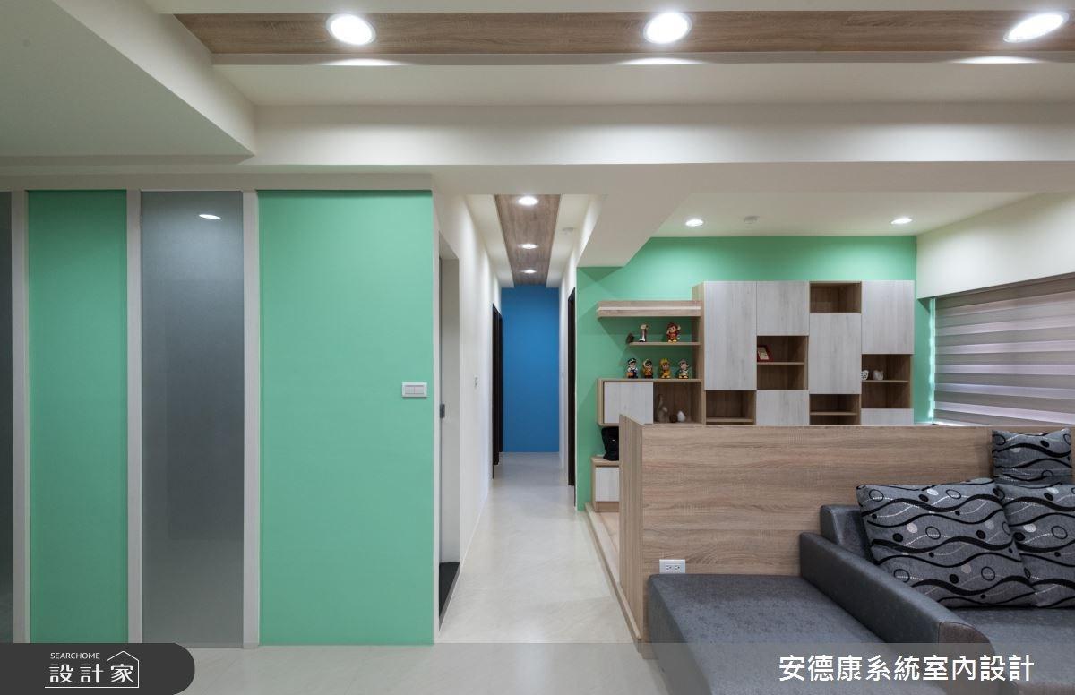 26坪新成屋(5年以下)_簡約風工作區案例圖片_安德康系統室內設計_安德康_64之5