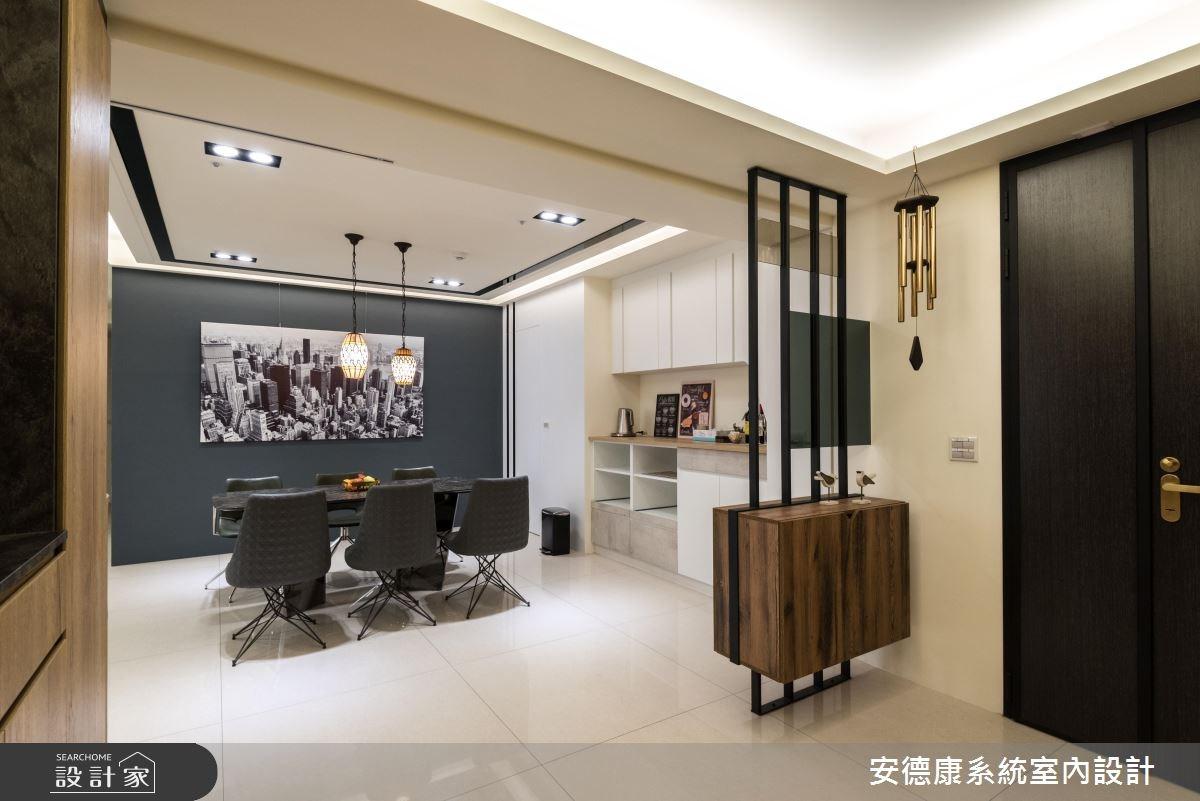 52坪新成屋(5年以下)_混搭風餐廳案例圖片_安德康系統室內設計_安德康_65之2