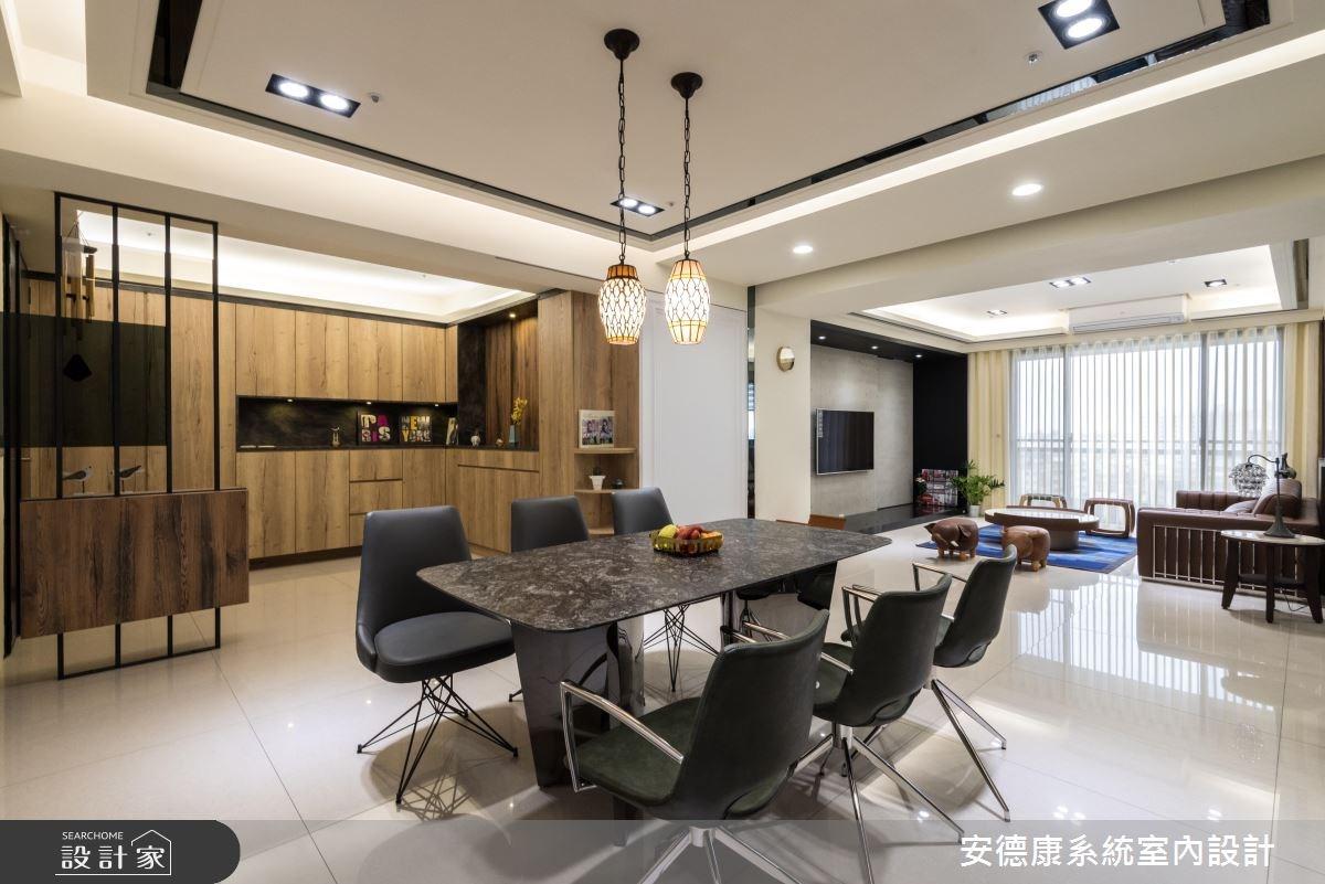 52坪新成屋(5年以下)_混搭風餐廳案例圖片_安德康系統室內設計_安德康_65之3