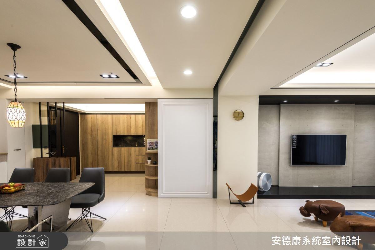 52坪新成屋(5年以下)_混搭風餐廳案例圖片_安德康系統室內設計_安德康_65之4