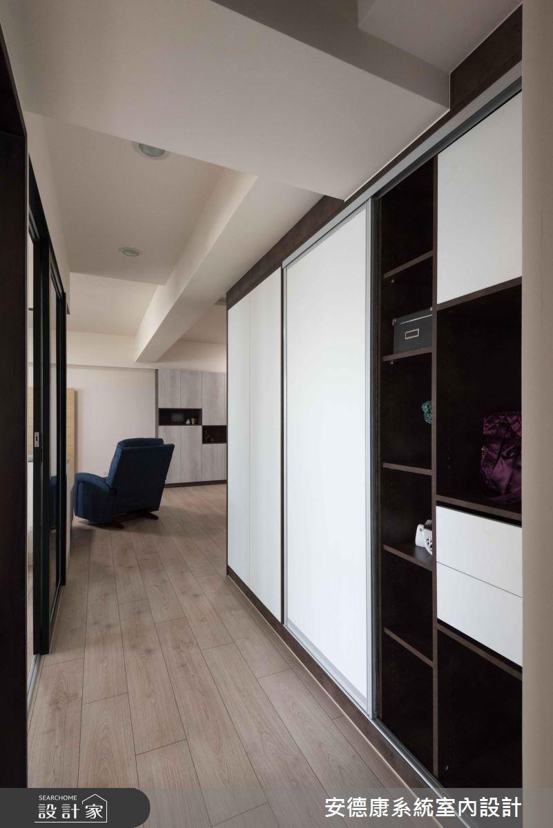 28坪新成屋(5年以下)_簡約風走廊案例圖片_安德康系統室內設計_安德康_69之10