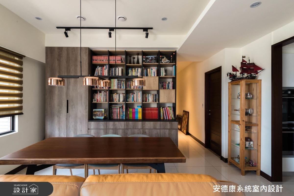 38坪新成屋(5年以下)_現代風工作區案例圖片_安德康系統室內設計_安德康_72之4
