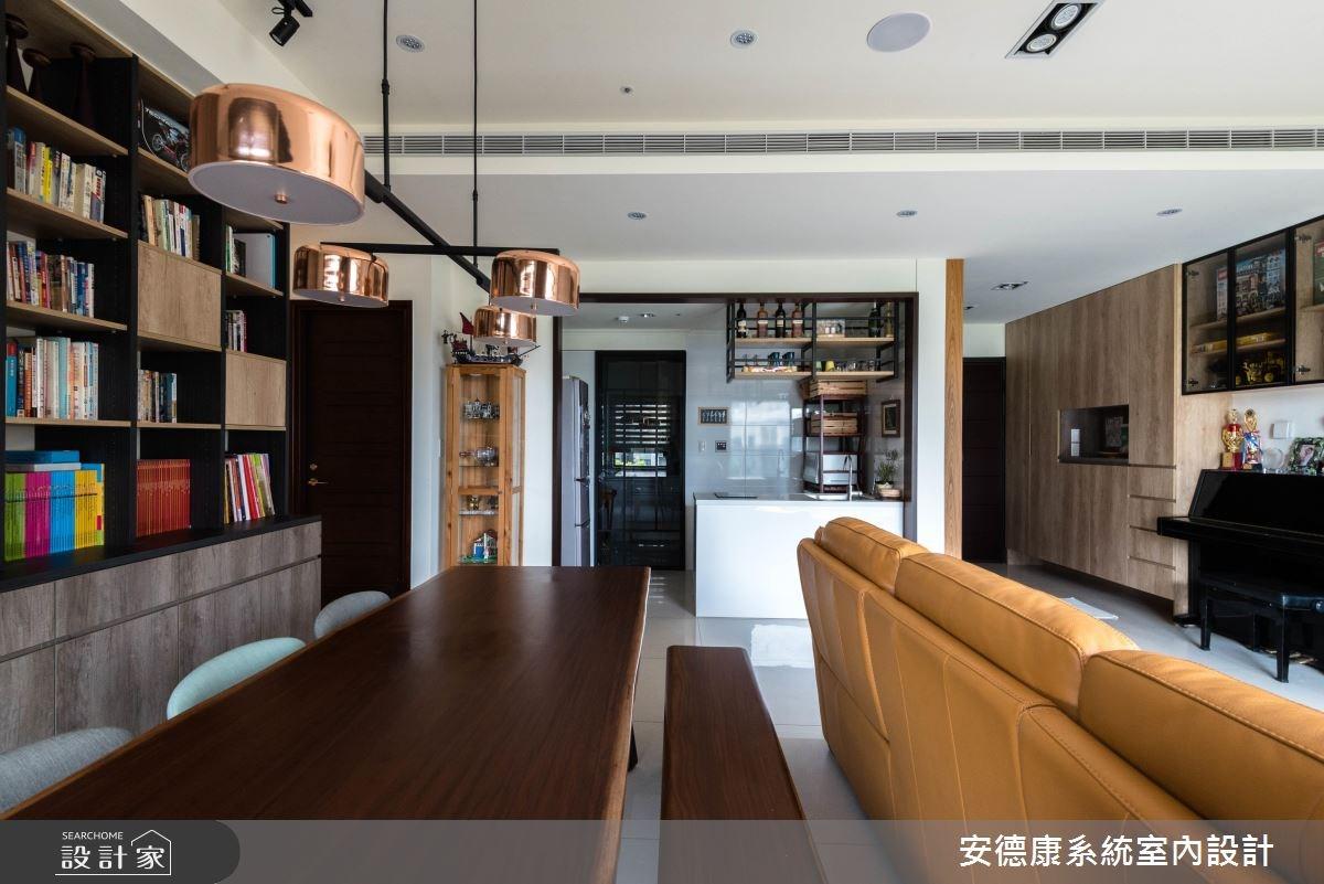 38坪新成屋(5年以下)_現代風工作區案例圖片_安德康系統室內設計_安德康_72之5