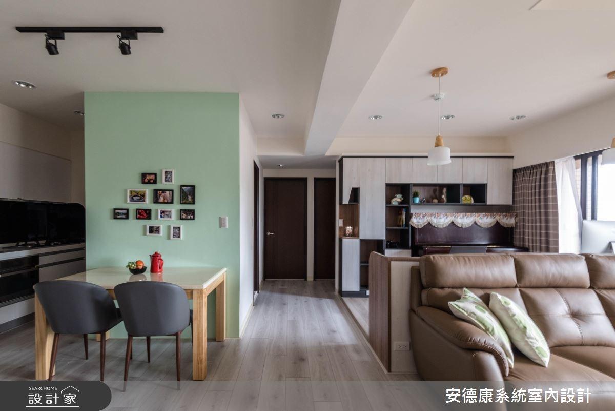 30坪新成屋(5年以下)_混搭風客廳案例圖片_安德康系統室內設計_安德康_73之5