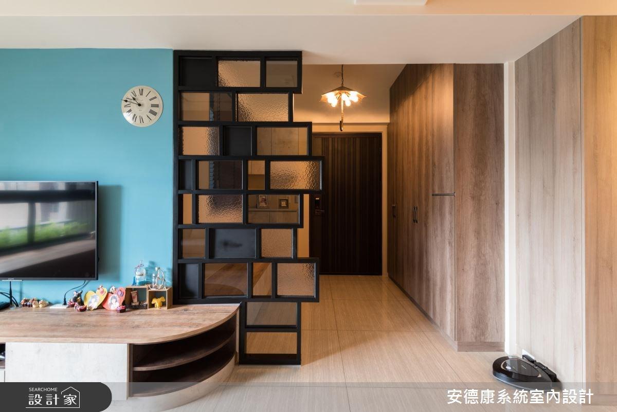 30坪新成屋(5年以下)_混搭風玄關案例圖片_安德康系統室內設計_安德康_76之3