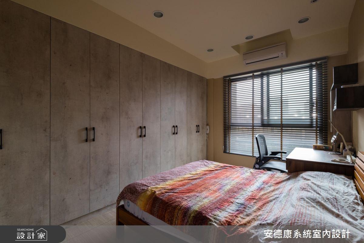 30坪新成屋(5年以下)_混搭風臥室案例圖片_安德康系統室內設計_安德康_76之13