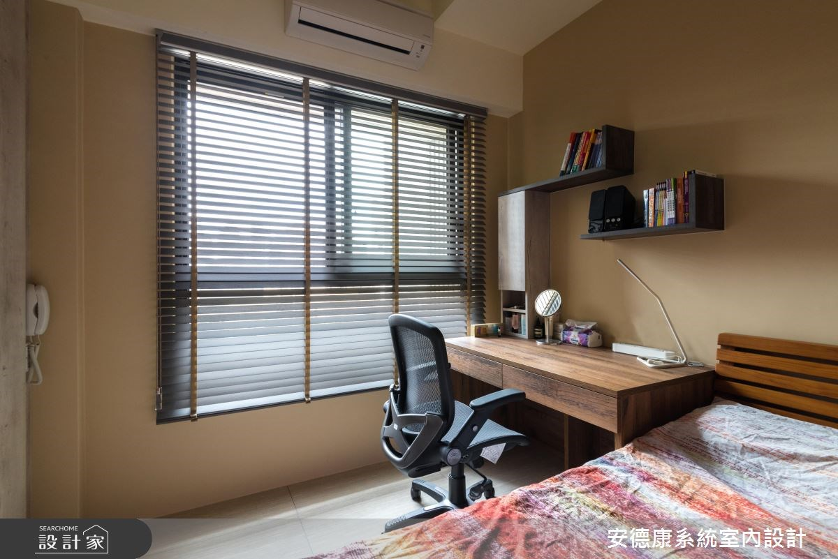 30坪新成屋(5年以下)_混搭風臥室案例圖片_安德康系統室內設計_安德康_76之14