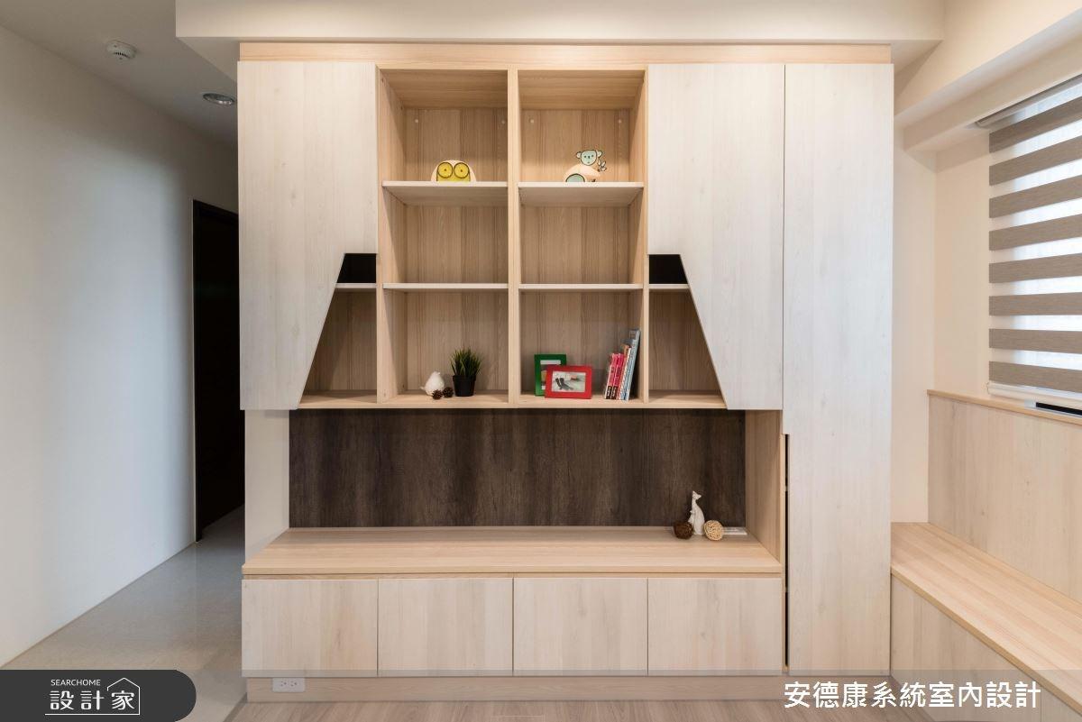 25坪新成屋(5年以下)_簡約風書房案例圖片_安德康系統室內設計_安德康_79之9