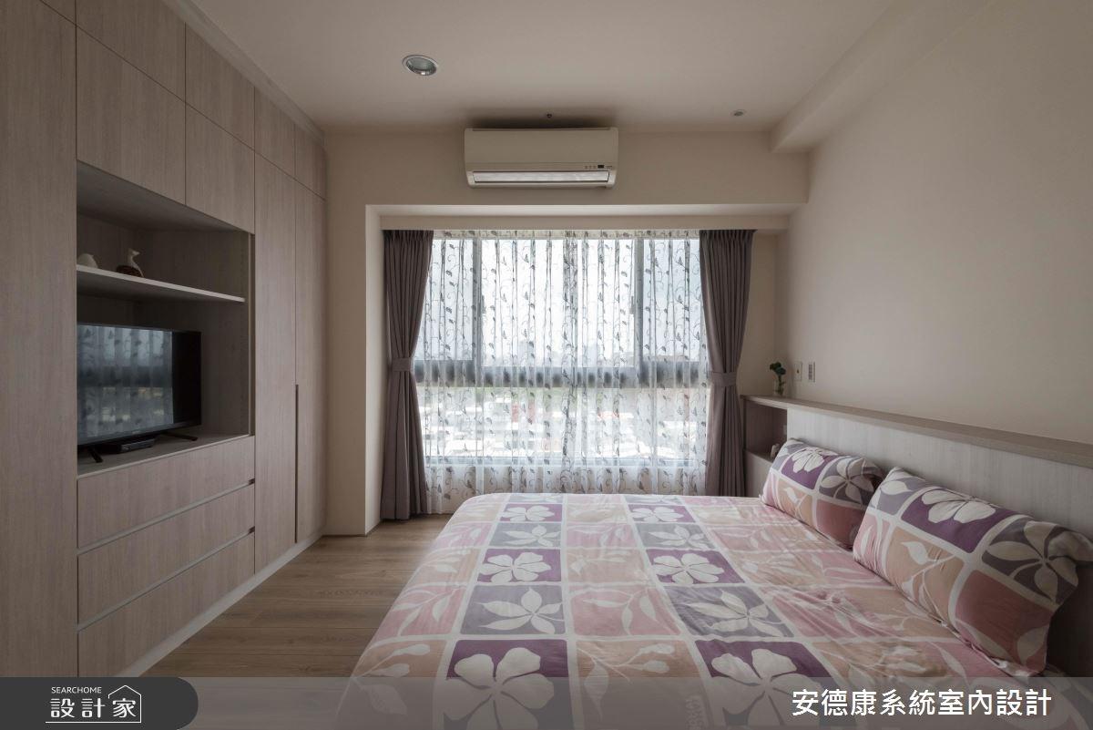 25坪新成屋(5年以下)_簡約風臥室案例圖片_安德康系統室內設計_安德康_79之11