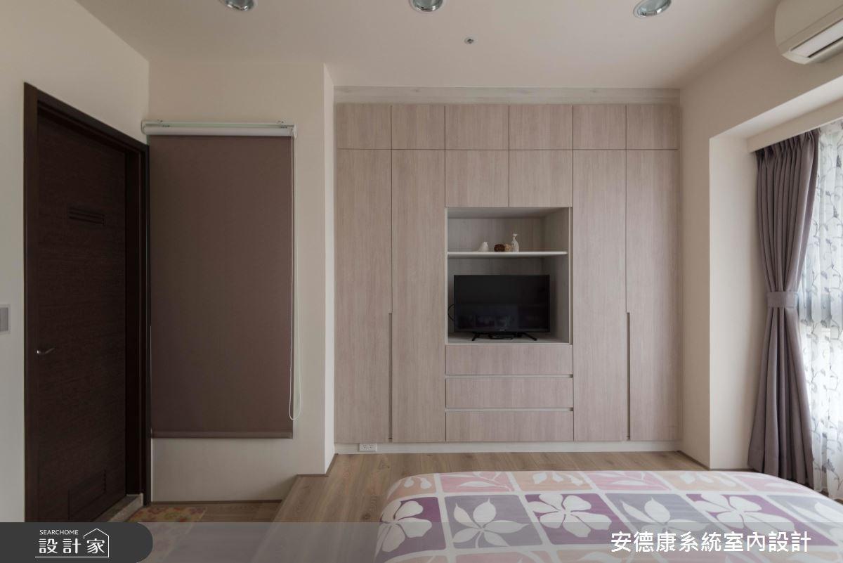 25坪新成屋(5年以下)_簡約風臥室案例圖片_安德康系統室內設計_安德康_79之12