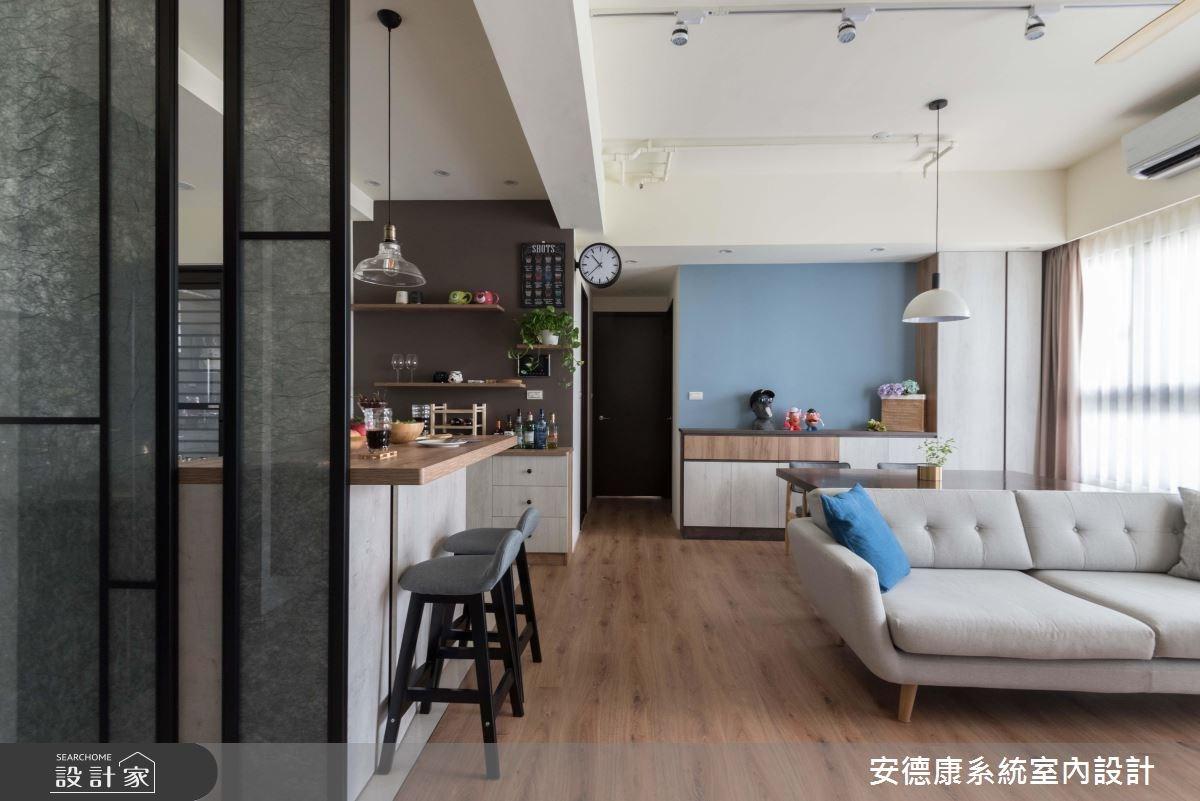 27坪預售屋_療癒風客廳案例圖片_安德康系統室內設計_安德康_83之2