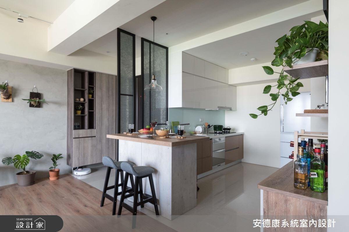 27坪預售屋_療癒風餐廳案例圖片_安德康系統室內設計_安德康_83之4