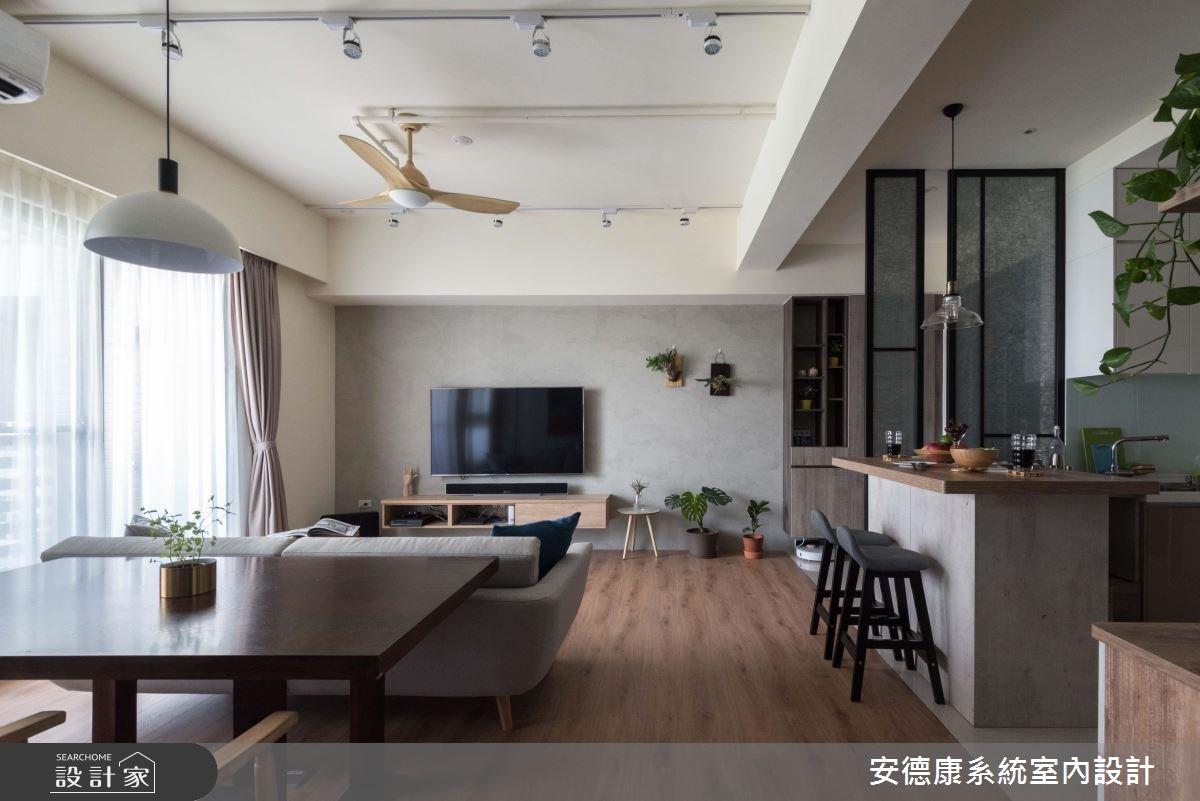 27坪預售屋_療癒風工作區案例圖片_安德康系統室內設計_安德康_83之9