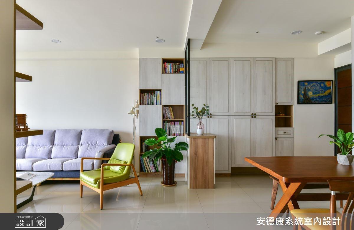 28坪新成屋(5年以下)_混搭風餐廳案例圖片_安德康系統室內設計_安德康_86之3