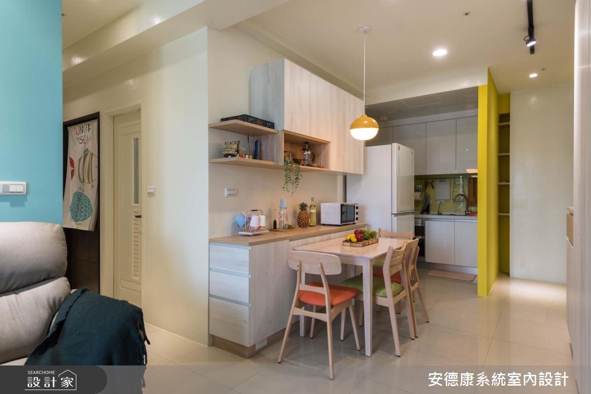 20坪新成屋(5年以下)_北歐風餐廳案例圖片_安德康系統室內設計_安德康_88之2