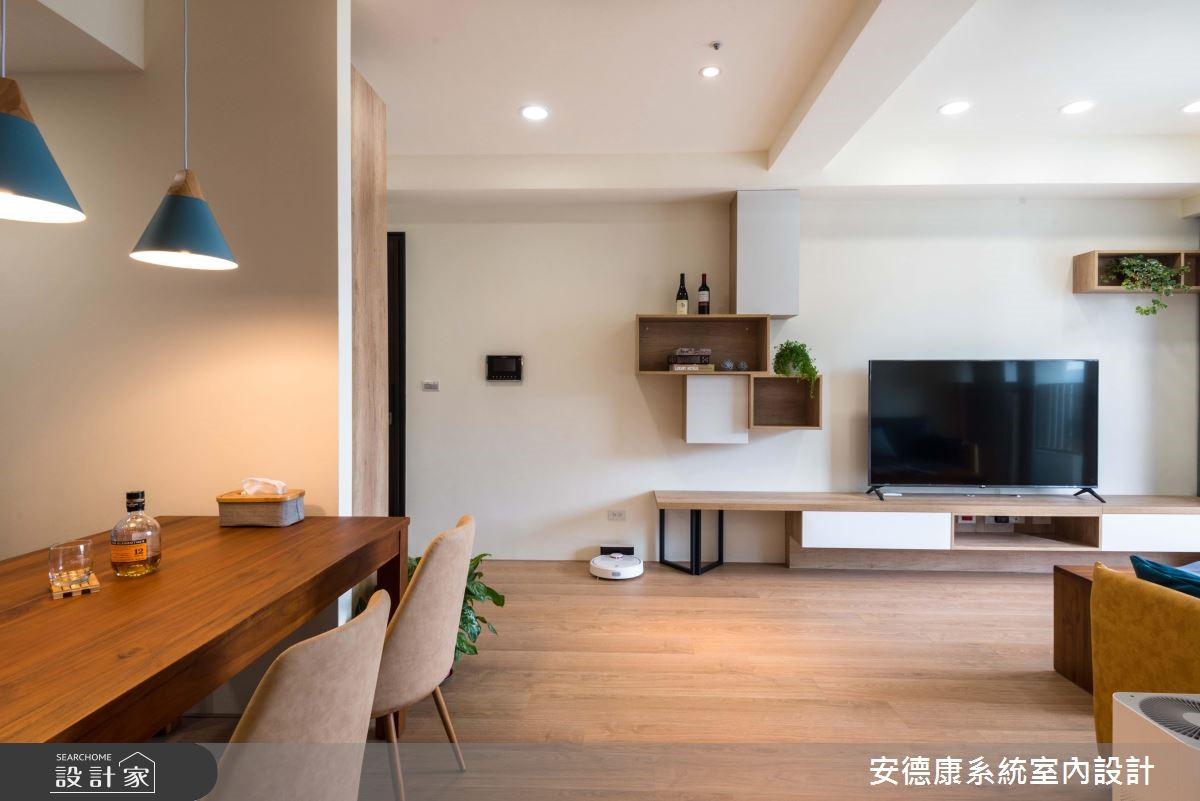 20坪新成屋(5年以下)_簡約風餐廳案例圖片_安德康系統室內設計_安德康_91之3